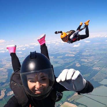 Прыжок с парашютом в Чернигове - Skydive Academy - Аэродром Певцы