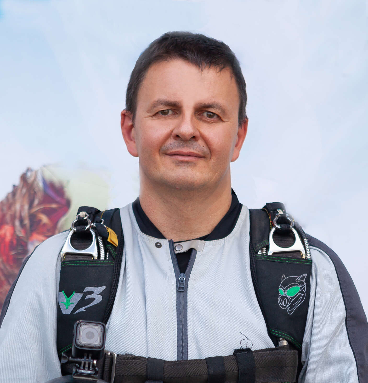 Дмитрий Грибиник - Тандем-инструктор - Skydive Academy