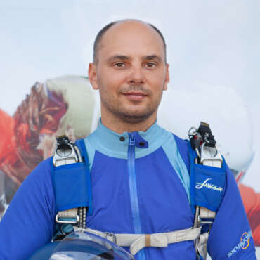 Владимир Заикин - Тандем-инструктор - Skydive Academy