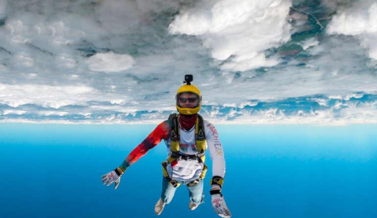 Спортивные прыжки с парашютом в Чернигове и Киеве - Аэродром Певцы
