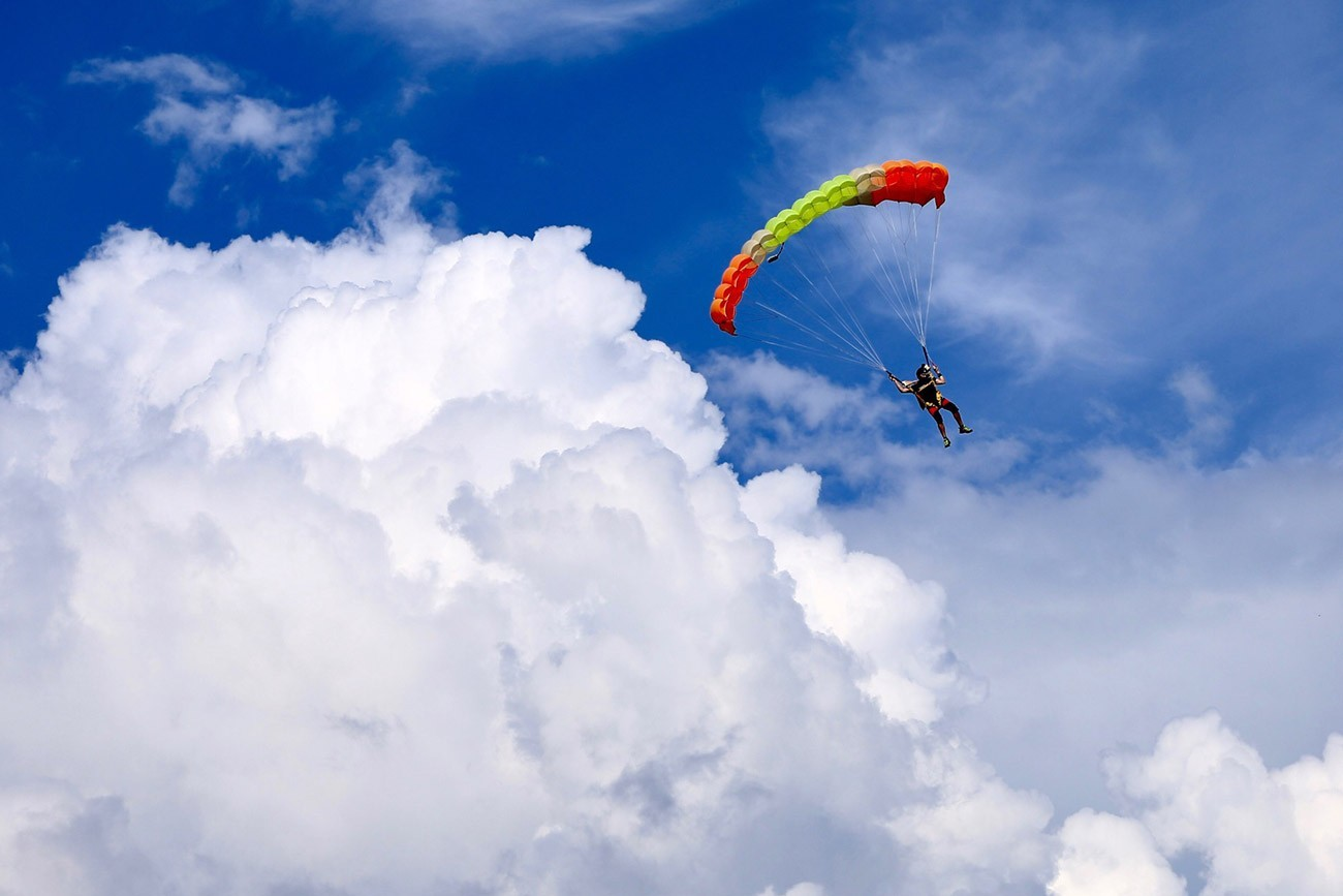 Погодные условия для прыжков с парашютом в Киеве и Чернигове на Аэродроме Певцы- Skydive Academy