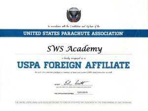 Skydive Academy Ukraine - сертифікована USPA дропзона
