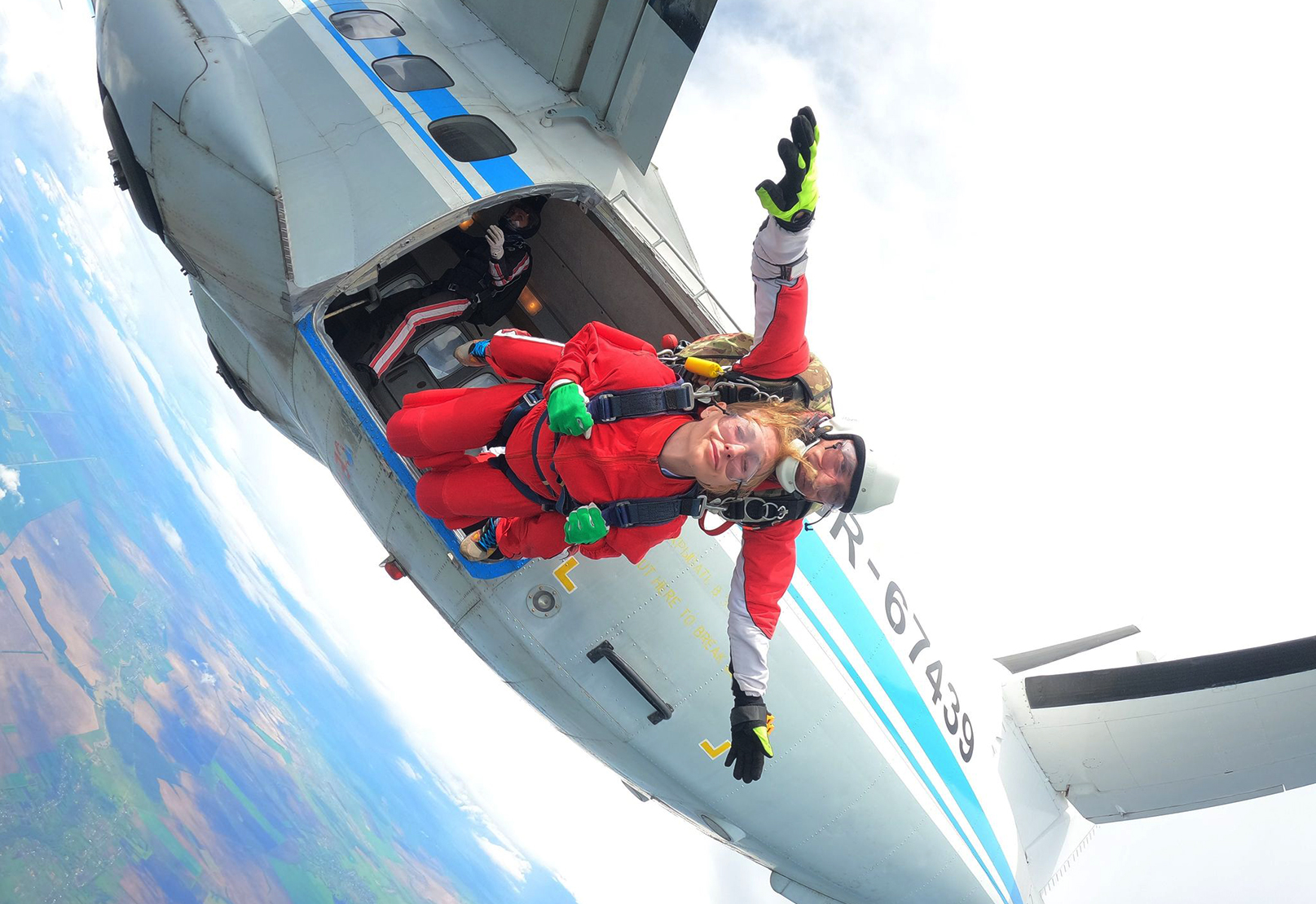 Skydiving in Ukraine on June 19, 20 and 21